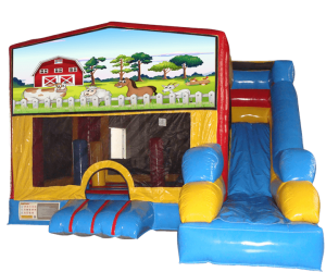 The most affordable Farm Bounce House Slide For Kids