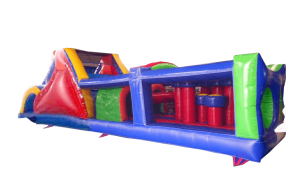 Most affordable bounce obstacle course house rentals