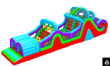 Most affordable obstacle bounce house rentals