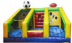 sports bounce house for rent