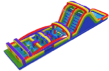 The most in demand wet & dry obstacle bounce house rentals