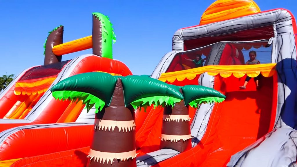 Affordable Inflatable Jungle Bounce House Rentals