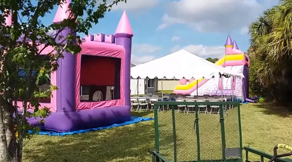 Cheapest Castle Bounce House For Rent