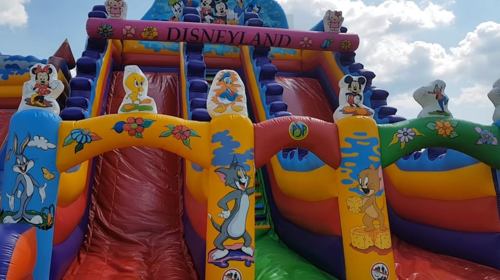 Slide Bounce House For Rent
