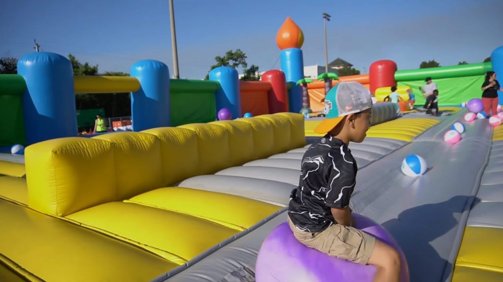 Bounce House Obstacle Course For Rent