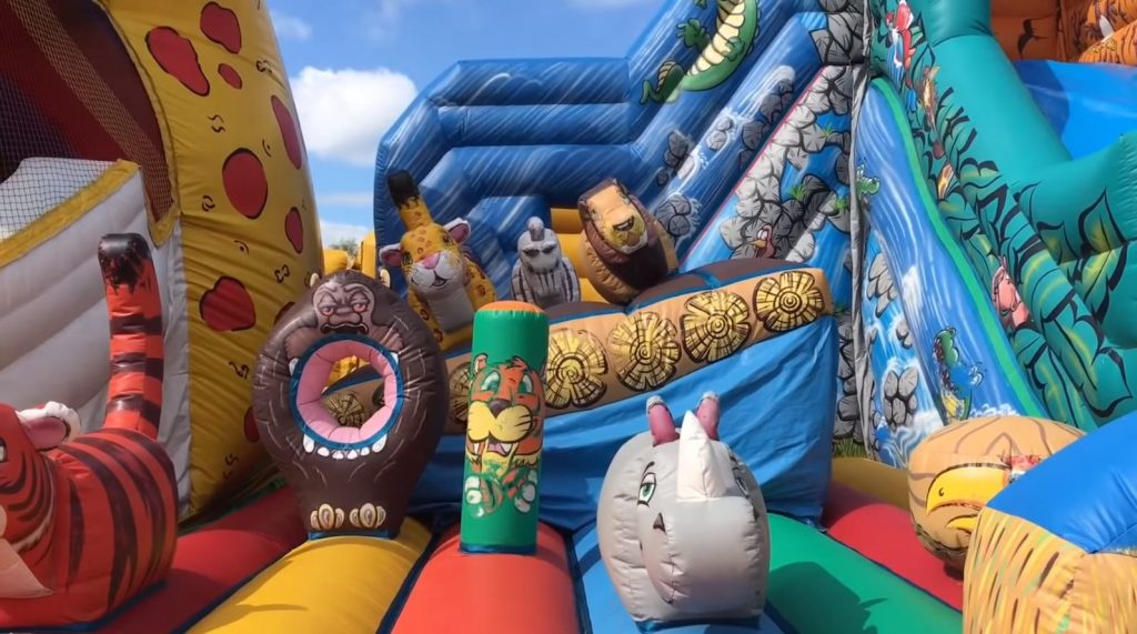 The Best Inflatable Bounce House Rentals