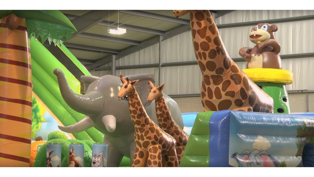 Affordable Jungle Bounce House Theme Rental