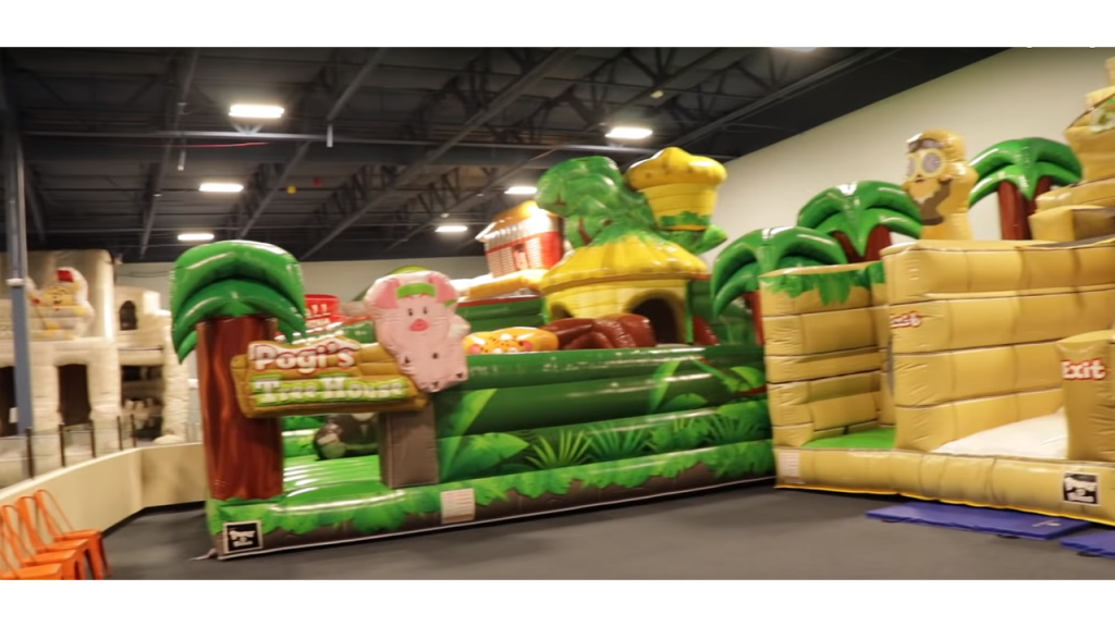 The Cheapest Inflatable Bounce castle for rent